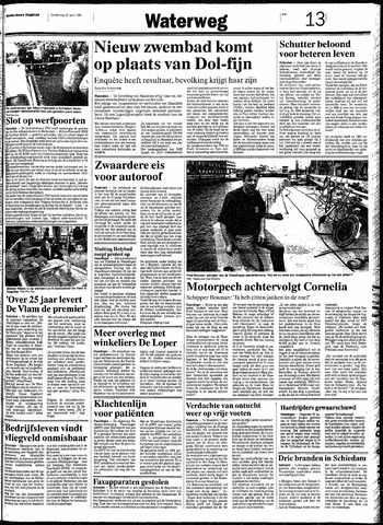 Rotterdamsch Nieuwsblad / Schiedamsche Courant / Rotterdams Dagblad / Waterweg / Algemeen Dagblad 1991-04-18
