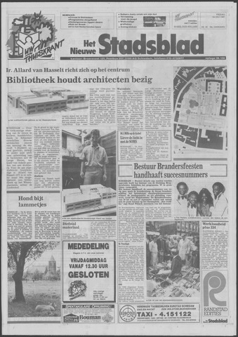 Het Nieuwe Stadsblad 1987-07-24