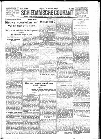 Schiedamsche Courant 1935-10-25