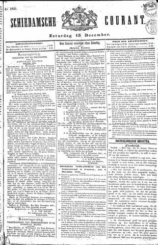 Schiedamsche Courant 1851-12-13