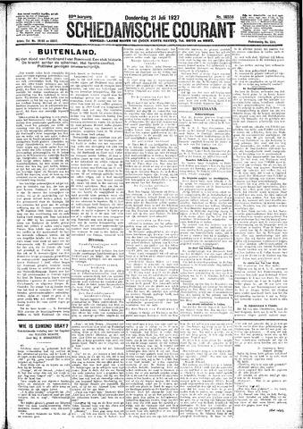 Schiedamsche Courant 1927-07-21