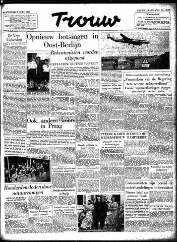 Trouw / De Rotterdammer 1953-07-08
