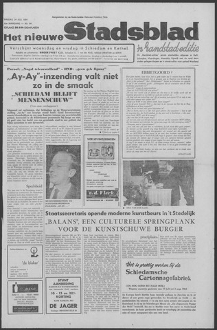 Het Nieuwe Stadsblad 1964-07-24