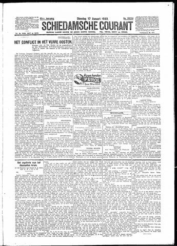 Schiedamsche Courant 1933-01-17