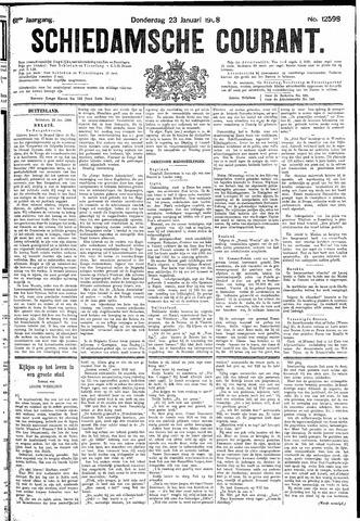 Schiedamsche Courant 1908-01-23