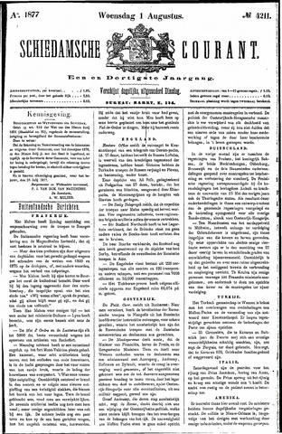 Schiedamsche Courant 1877-08-01