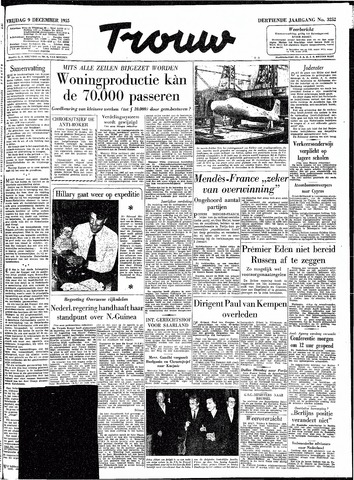Trouw / De Rotterdammer 1955-12-09