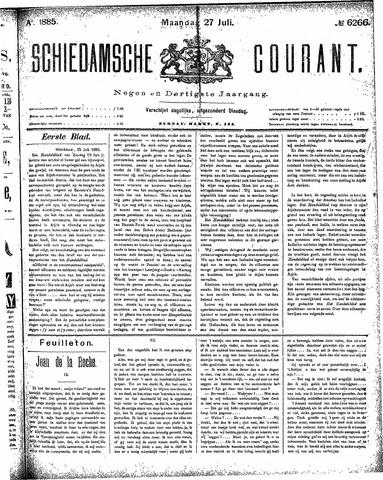 Schiedamsche Courant 1885-07-27