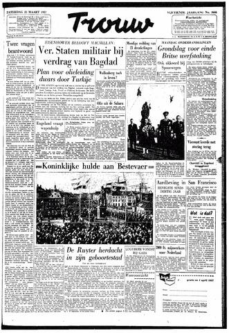 Trouw / De Rotterdammer 1957-03-23