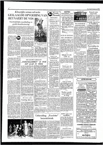 Rotterdamsch Parool / De Schiedammer 1955-08-20