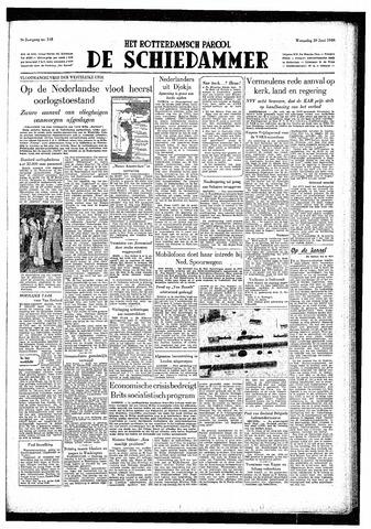 Rotterdamsch Parool / De Schiedammer 1949-06-29