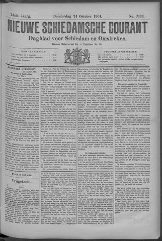 Nieuwe Schiedamsche Courant 1901-10-24