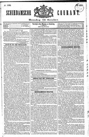 Schiedamsche Courant 1862-10-13