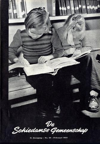 Schiedamse Gemeenschap (tijdschrift) 1951-02-01