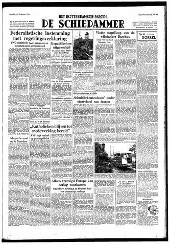 Rotterdamsch Parool / De Schiedammer 1949-02-28