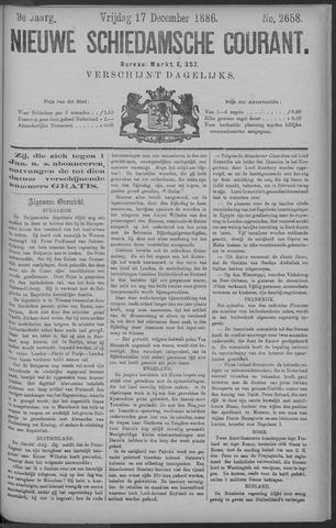 Nieuwe Schiedamsche Courant 1886-12-17