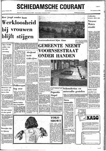 Rotterdamsch Nieuwsblad / Schiedamsche Courant / Rotterdams Dagblad / Waterweg / Algemeen Dagblad 1974-10-08