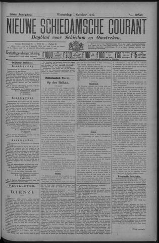 Nieuwe Schiedamsche Courant 1913-10-01
