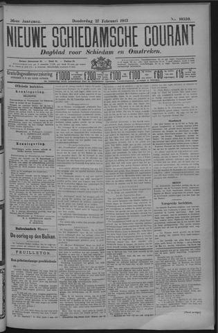 Nieuwe Schiedamsche Courant 1913-02-27