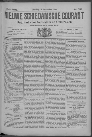 Nieuwe Schiedamsche Courant 1901-11-06