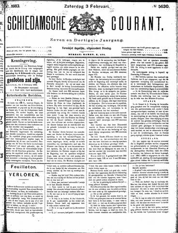 Schiedamsche Courant 1883-02-03