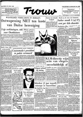 Trouw / De Rotterdammer 1957-07-29