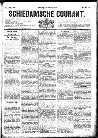 Schiedamsche Courant 1916-01-15