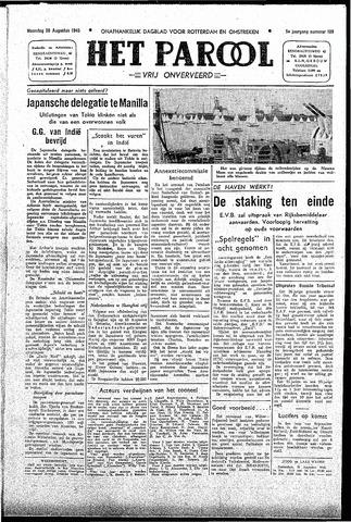 Rotterdamsch Parool / De Schiedammer 1945-08-20