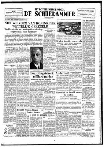Rotterdamsch Parool / De Schiedammer 1947-09-16
