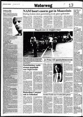Rotterdamsch Nieuwsblad / Schiedamsche Courant / Rotterdams Dagblad / Waterweg / Algemeen Dagblad 1991-06-12