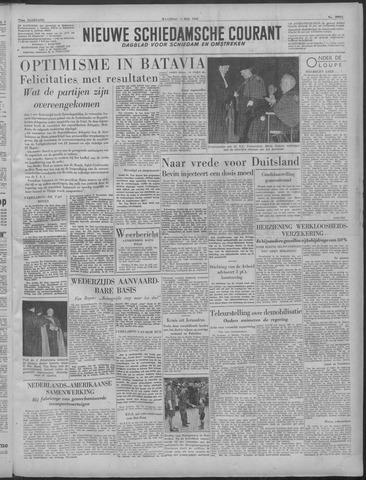 Nieuwe Schiedamsche Courant 1949-05-09