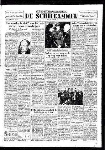 Rotterdamsch Parool / De Schiedammer 1947-11-04