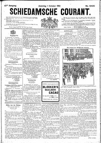 Schiedamsche Courant 1910-10-01