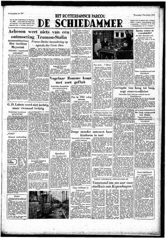 Rotterdamsch Parool / De Schiedammer 1949-11-09