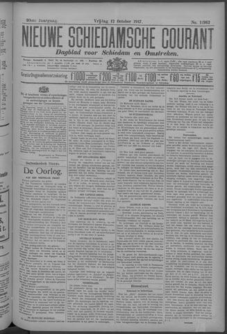 Nieuwe Schiedamsche Courant 1917-10-12