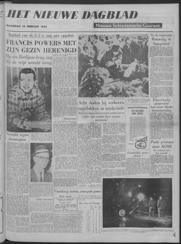Nieuwe Schiedamsche Courant 1962-02-12