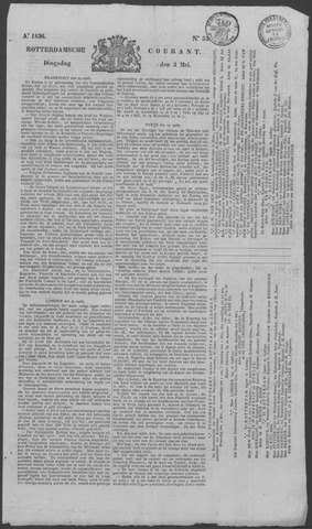 Rotterdamse Courant 1836-05-03