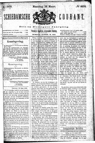 Schiedamsche Courant 1879-03-24