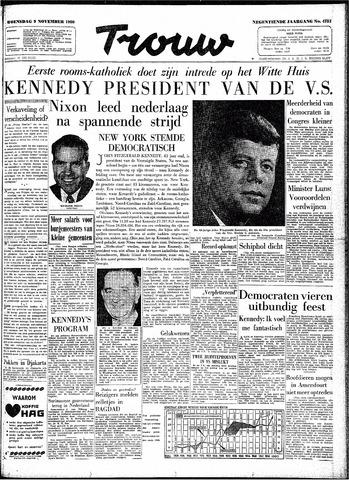 Trouw / De Rotterdammer 1960-11-09