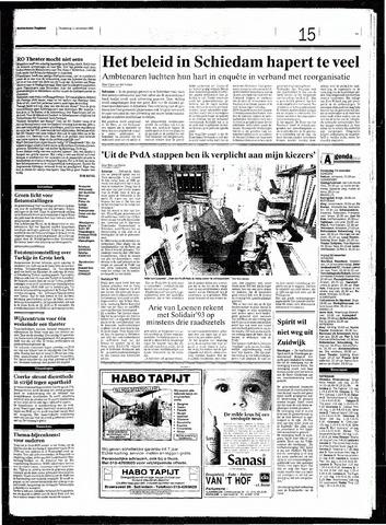 Rotterdamsch Nieuwsblad / Schiedamsche Courant / Rotterdams Dagblad / Waterweg / Algemeen Dagblad 1993-11-11