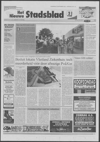Het Nieuwe Stadsblad 2000-09-28