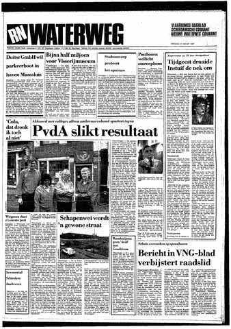 Rotterdamsch Nieuwsblad / Schiedamsche Courant / Rotterdams Dagblad / Waterweg / Algemeen Dagblad 1987-03-31