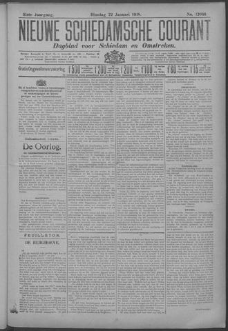Nieuwe Schiedamsche Courant 1918-01-22