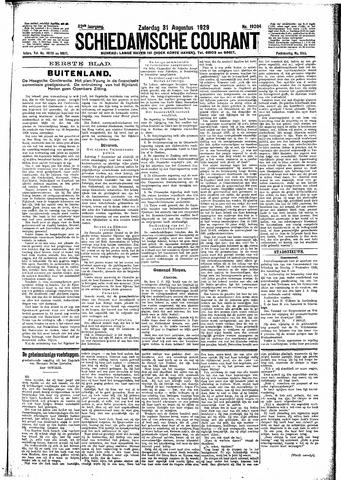 Schiedamsche Courant 1929-08-31