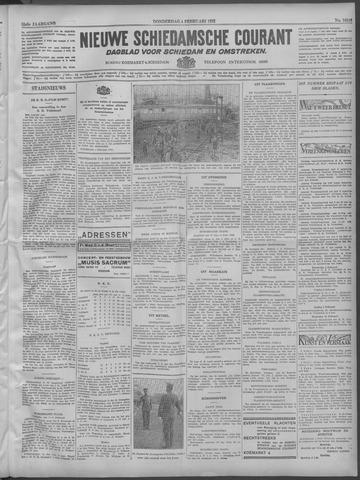 Nieuwe Schiedamsche Courant 1932-02-04
