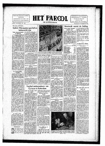 Rotterdamsch Parool / De Schiedammer 1946-08-19