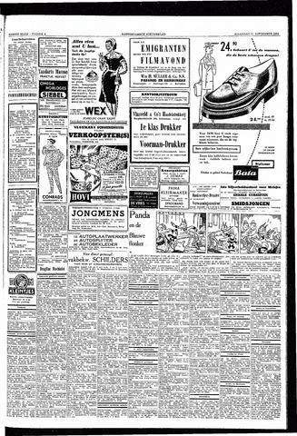 Rotterdamsch Nieuwsblad / Schiedamsche Courant / Rotterdams Dagblad / Waterweg / Algemeen Dagblad 1953-09-21