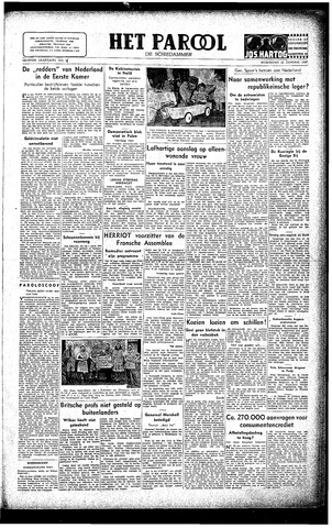Rotterdamsch Parool / De Schiedammer 1947-01-22