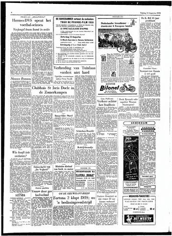 Rotterdamsch Parool / De Schiedammer 1955-08-12