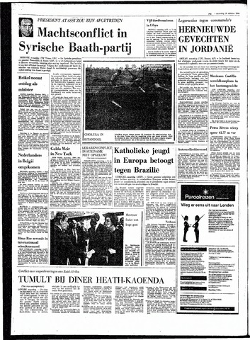 Rotterdamsch Parool / De Schiedammer 1970-10-19